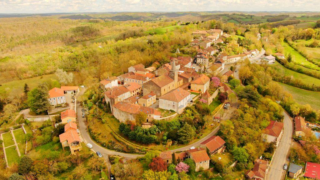 Montesquiou (vue de haut)