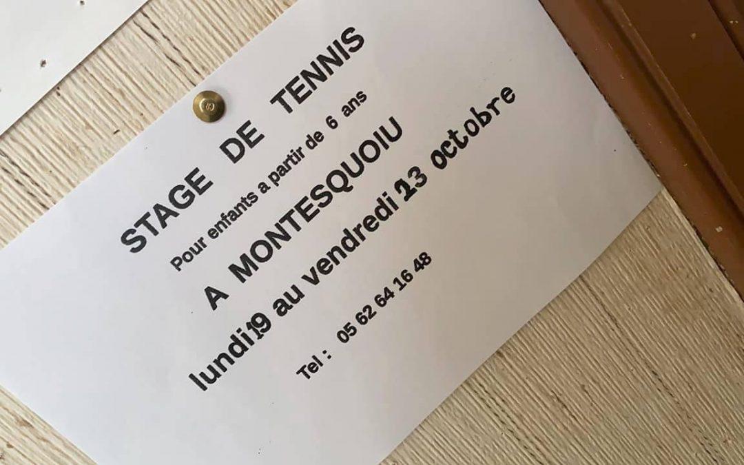 Stage de Tennis de la Toussaint