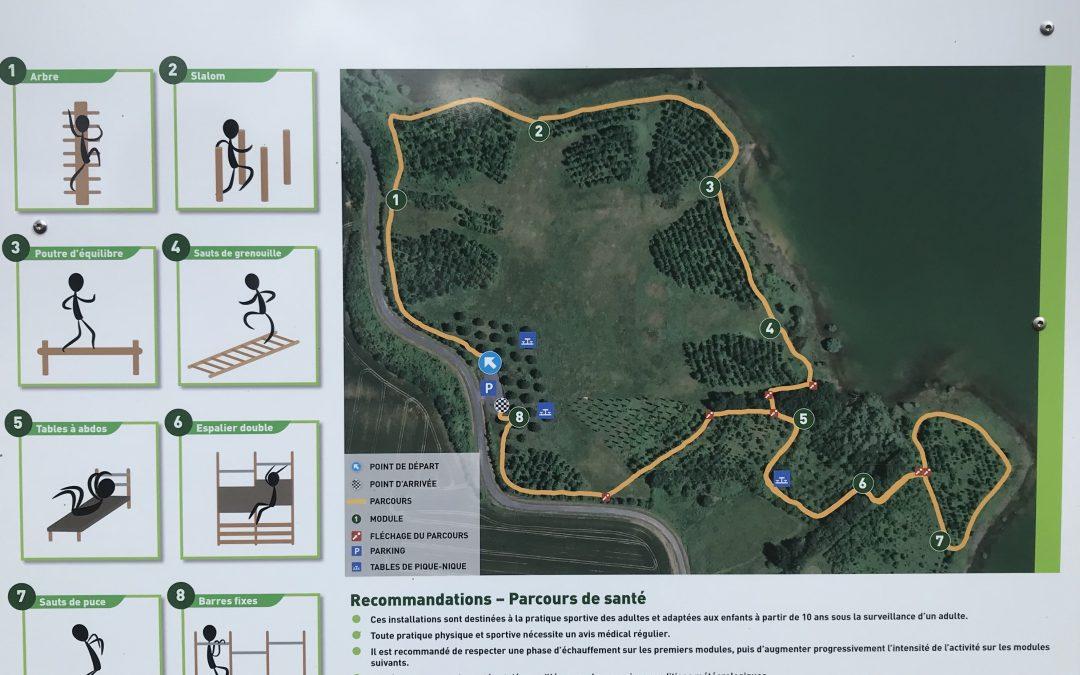 Parcours de Santé au Lac du Lizet